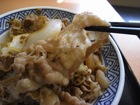吉野家 上越高田店 牛丼 アタマの大盛り つゆだく 肉アップ2