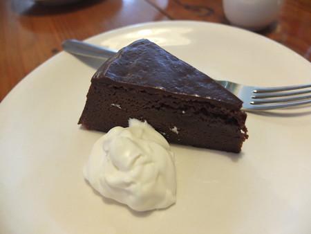 Coffee Shop びんのかけら チョコレートケーキ