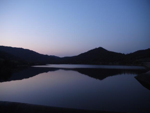 黒瀬ダムの写り _3114943