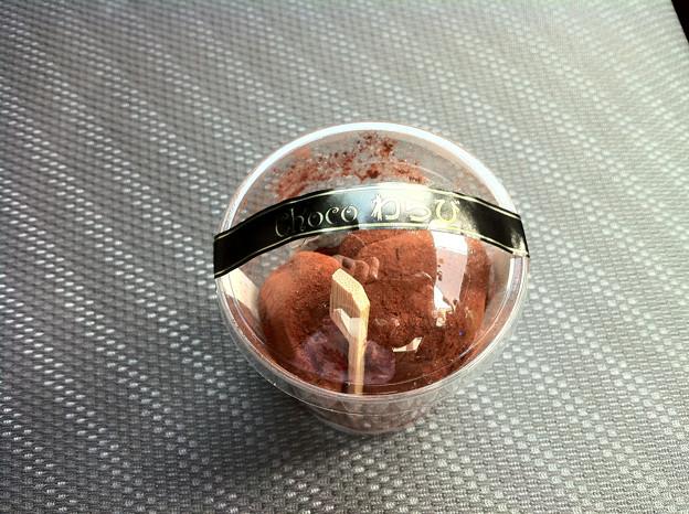 写真: チョコわらび餅