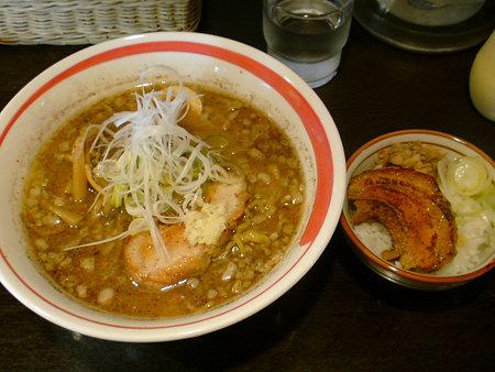 綱取物語 綱取味噌+チャーシュー丼(小)