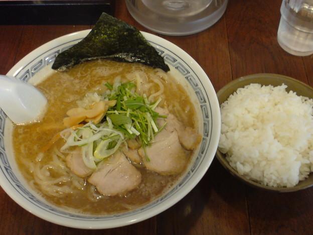 Photos: いちかばちか 濃厚醤油大盛り+ライス