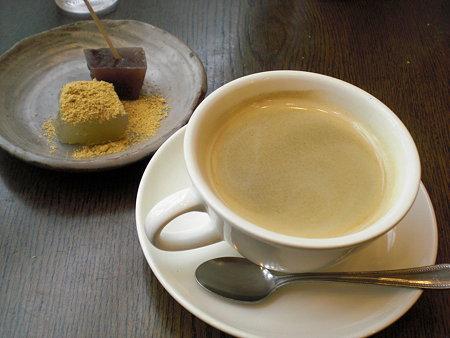 コーヒー&ミニデザート