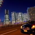 夜景と車/夜の車