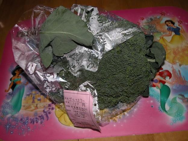 田舎だから買えるこの値段(?)ブロッコリ150円