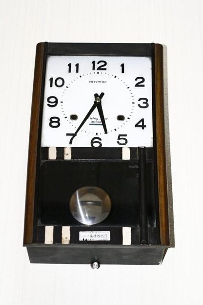 拾ってきたゼンマイ時計、、、、ちゃんと動く!