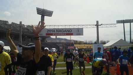 長野マラソン、3時間51分...