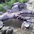 写真: 鍋山の湯 硫黄の方