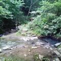 写真: 川又 清流の横にちょこんと湯船