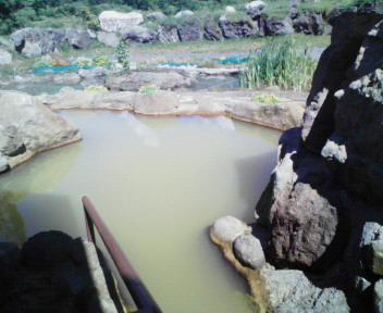 写真: 黄金温泉