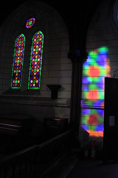 明治村-聖ザビエル天主堂のステンドグラス