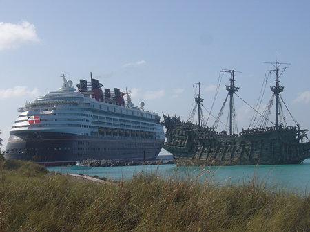 Castaway Cayにて