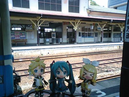 リン:「八幡浜駅に到着だぉー!!」 ミク:「自宅最寄り駅から延々、...