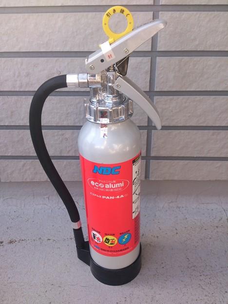 ABC粉末消火器 NDCエコアルミ 4型 PAN-4A(?)