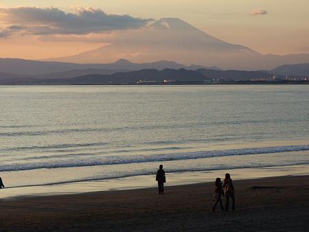 湘南海岸公園からの富士