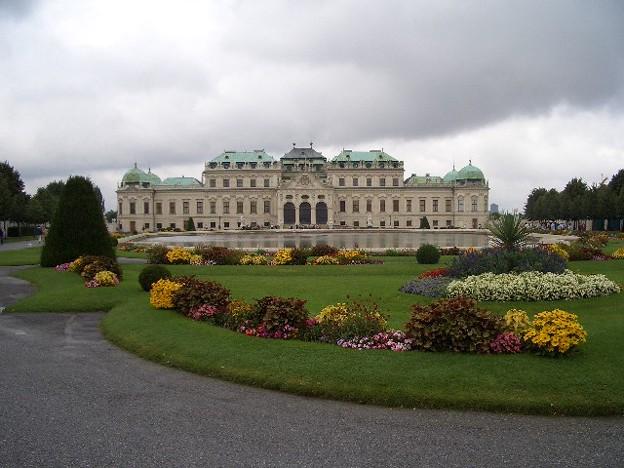ベルヴェデーレ宮殿 CIMG0170