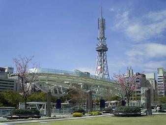 080408-オアシス21とテレビ塔