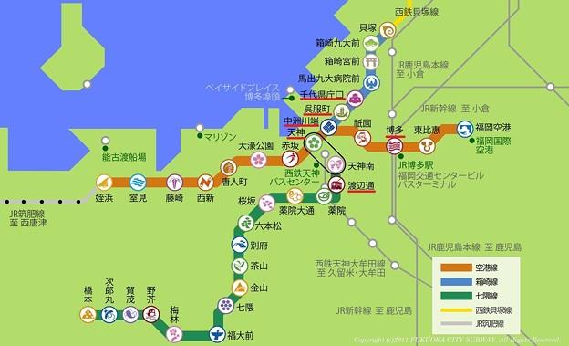 福岡 路線図