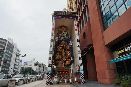 03 2014年 博多祇園山笠 飾り山笠 風雲龍謙信決戦 東流 (5)