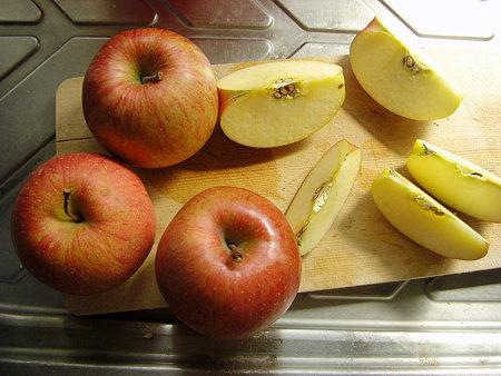 りんごが4つ