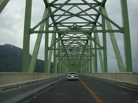 大島大橋渡橋