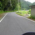 写真: おもっきし田舎道