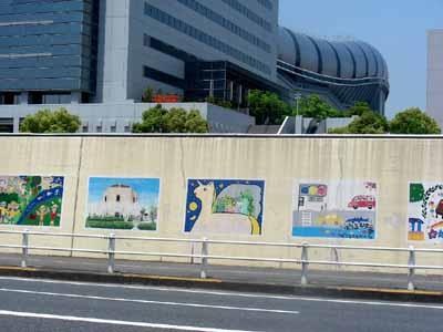 090509九条淀川大橋 022壁画