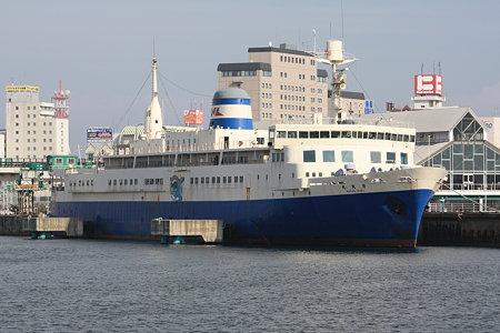 青函連絡船 摩周丸〜海から見る
