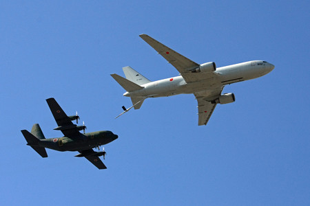 KC-767&C-130H  空中給油デモ 2014年 IMG_9298_2