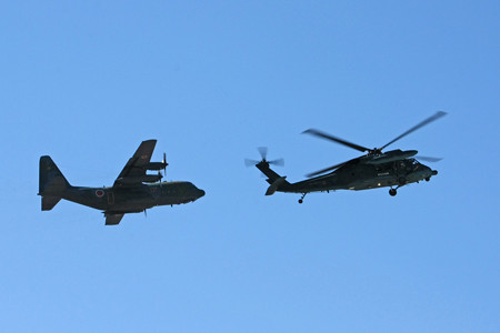 C-130H&UH-60J 災害派遣デモ 2014年 IMG_9645_2