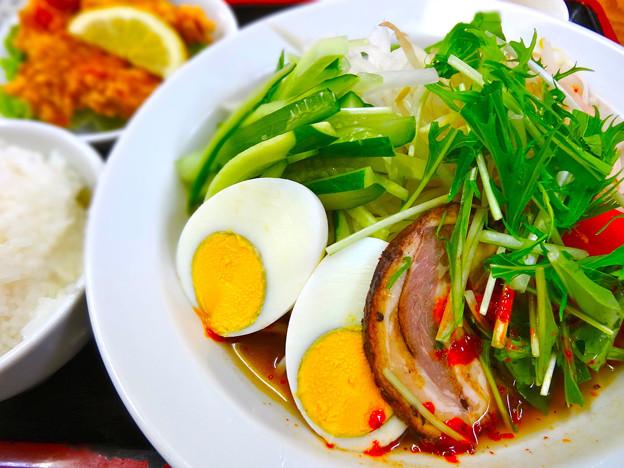 てんしん中華店 日替ランチ 冷麺 冷やし中華 広島市南区的場町 Tianjin