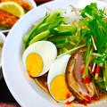 Photos: てんしん中華店 日替ランチ 冷麺 冷やし中華 広島市南区的場町 Tianjin