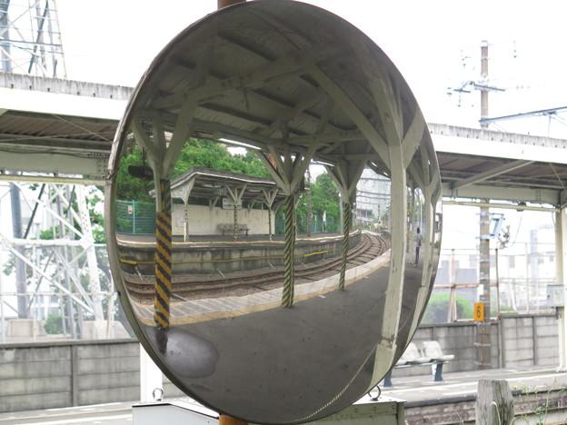 鏡 @鶴見線海芝浦支線浅野駅