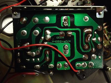 MU-61 電源回路裏