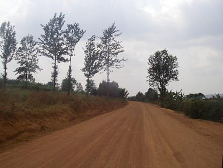 キガリ郊外にて