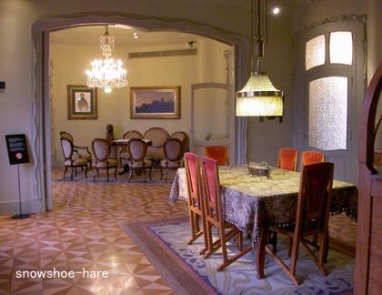 居間と食堂