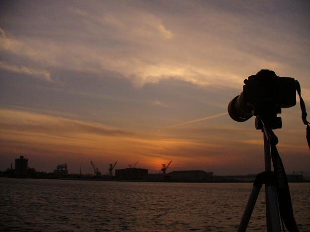 写真: 関西の夕暮れ3