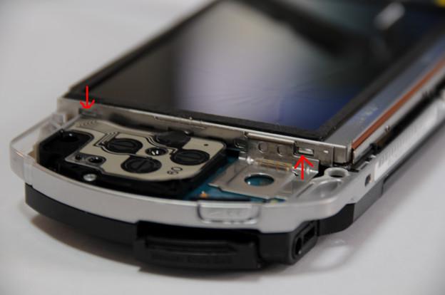 PSP液晶自力交換 06