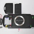 写真: PSP液晶自力交換 02