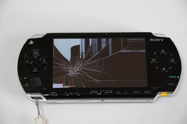 PSP液晶自力交換 01