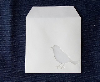 小鳥の封筒