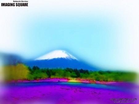 富士芝桜(エアブラシ)