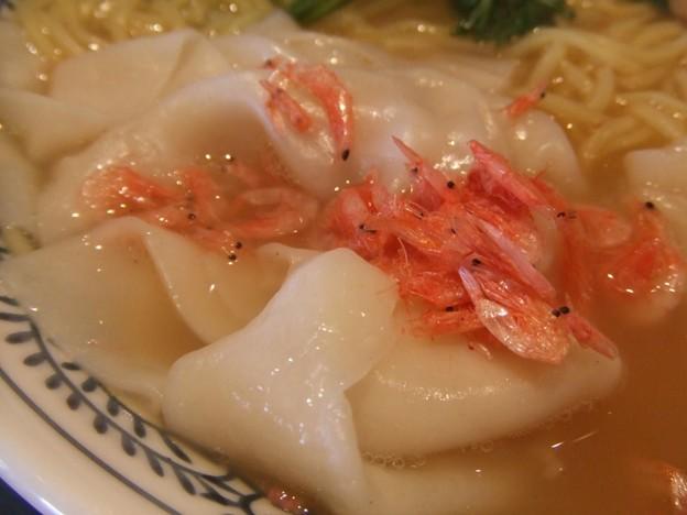 Photos: 20080318丸源海老塩ワンタン麺アップ