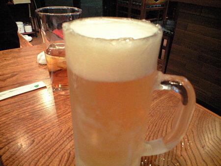 とりあえずビール♪