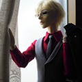 Photos: 朝日奈右京さんお天気チェック中