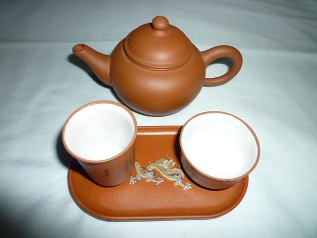 一杯一杯復一杯、李白酒に酔い吾茶に酔う~茶壺と聞香杯と茶杯