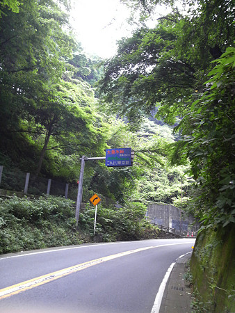 自転車で富士吉田へ(大垂水峠)