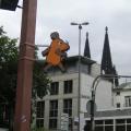 写真: ケルン 大聖堂とマウスのサイン