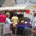 写真: ケルン 屋台の果物屋さん