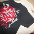 写真: ビバンダムT-シャツと日本GPT-シャツ?